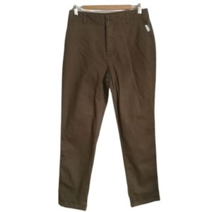3/30$ SIMONS Olive Green Cotton Stretchy Pants